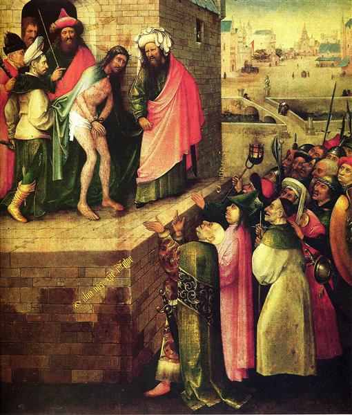 This is a human(Ecce Homo) - Hieronymus Bosch