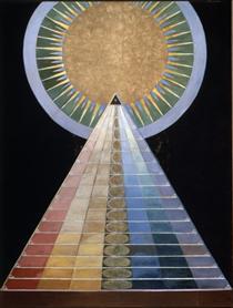 Altarpiece No. 1, Group X - Hilma af Klint