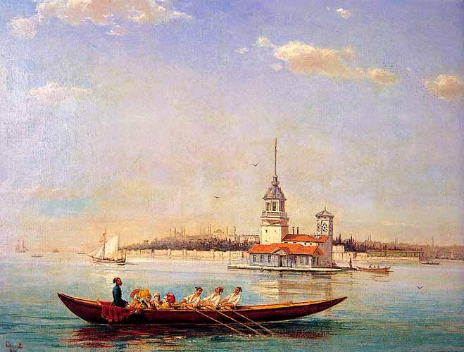 Maiden's Tower, 1894 - Hoca Ali Riza