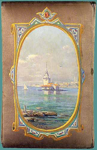 Maiden's Tower, 1904 - Hoca Ali Riza
