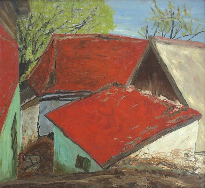 Houses in Poiana Mărului, 1972 - Horia Bernea