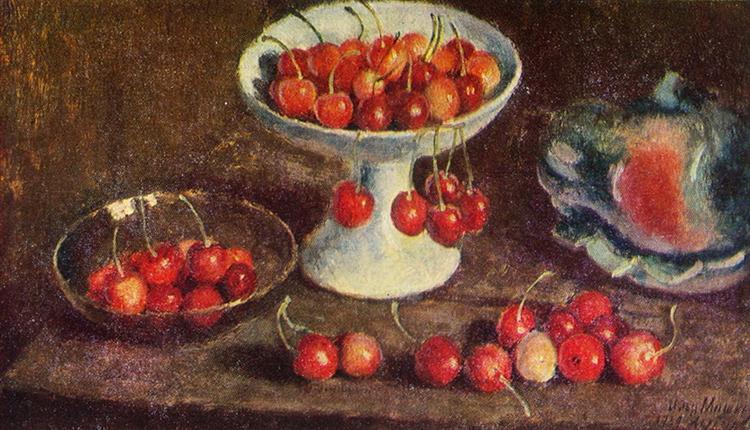 Cherry, 1939 - Ilya Mashkov