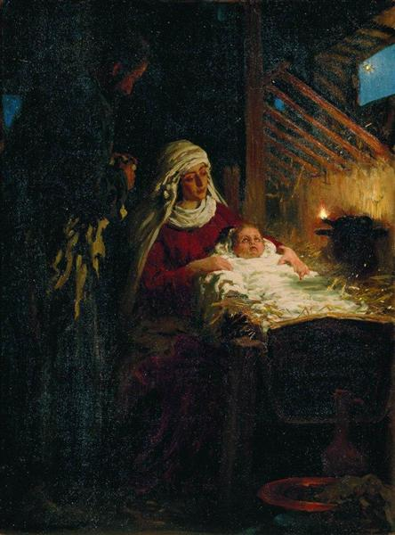 Nativity, 1890 - Ilya Repin