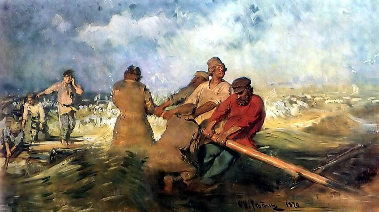 Storm on the Volga, 1870-1891