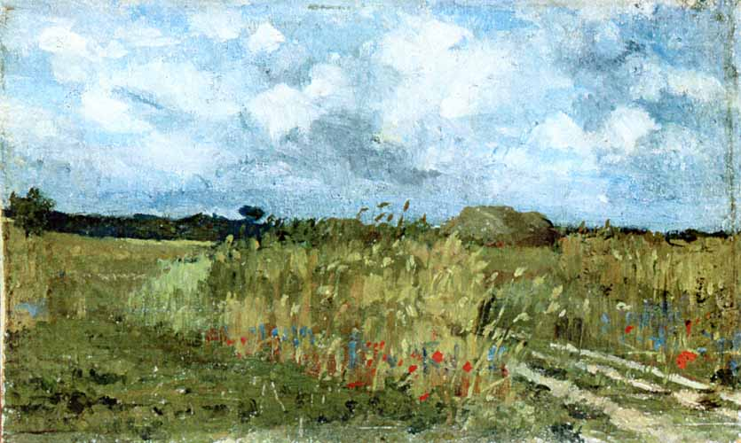 Flowering field, 1879
