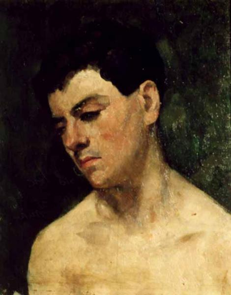 Head of a young man - Ion Andreescu