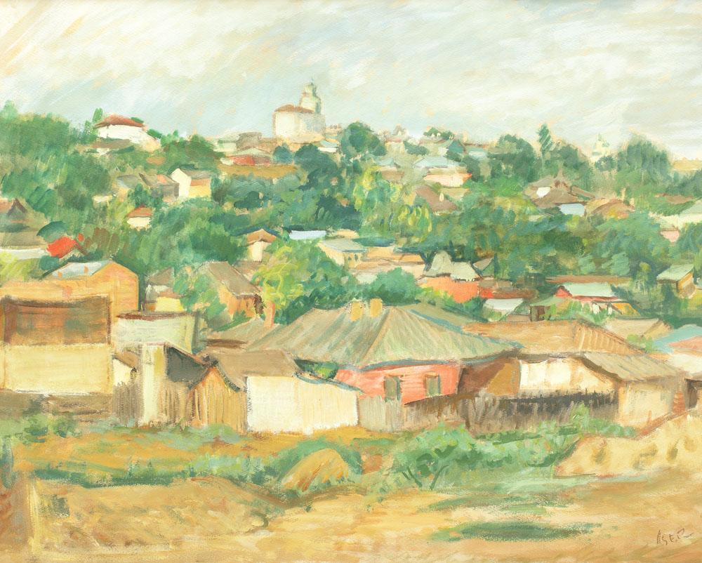 Houses on the Outskirts of Bucharest, 1930