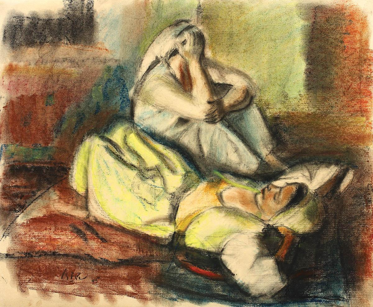 Odalisques Resting, 1945
