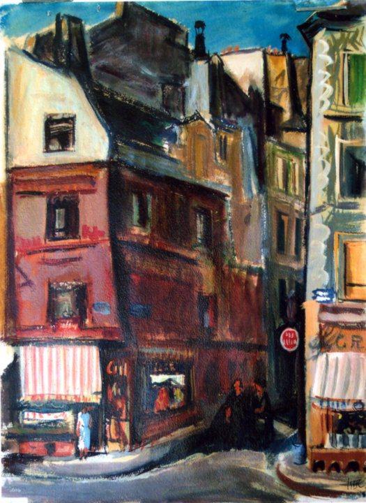 Paris. Mouffetard Street