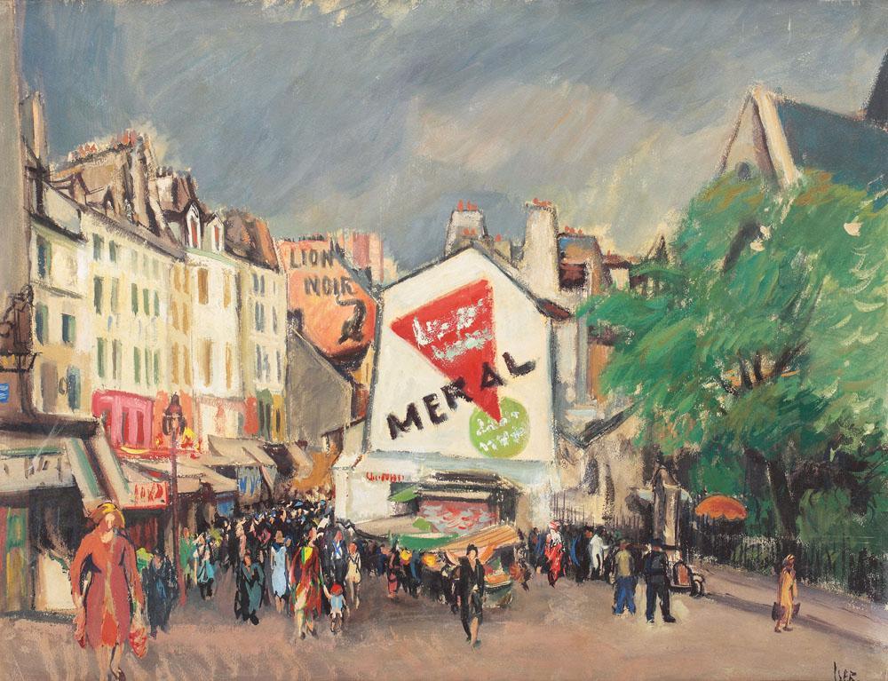 Parisian Promenade, 1930