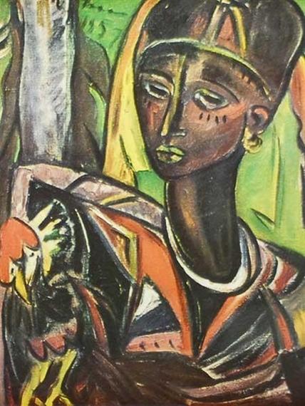 Irma Stern The Hunt Artist Irma Stern