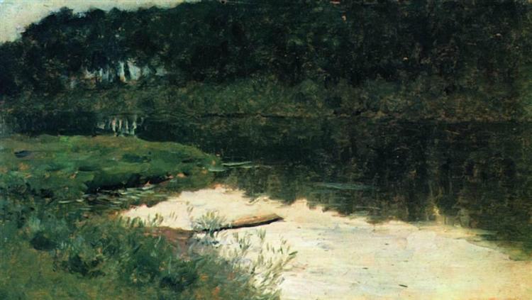 Abramtsevo, c.1885 - Isaak Iljitsch Lewitan
