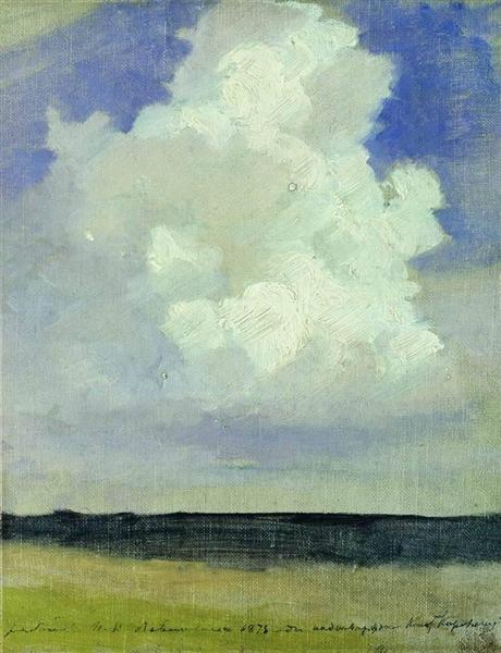 Cloud, 1878 - Isaak Levitán