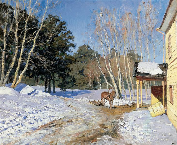 March - Isaac Levitan
