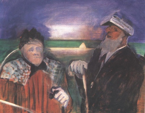 The Aged Sailor and the Old Woman, 1939 - Istvan Farkas