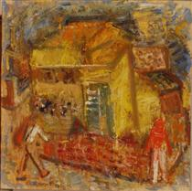 Houses and People - Иштван Илошваи Варга
