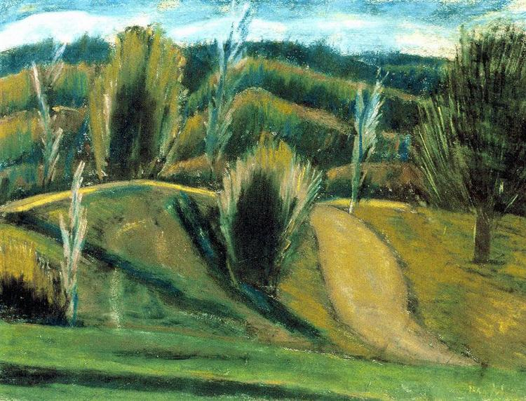 Autumn in Bakony, 1927 - Istvan Nagy
