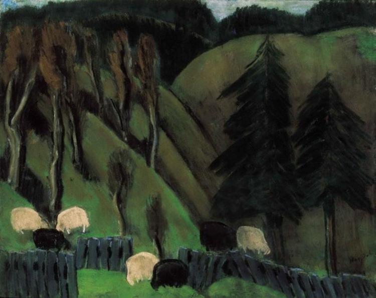 From my Székely homeland (Sheep) - Istvan Nagy