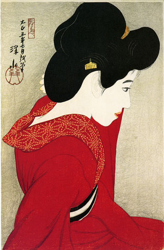 Before the Mirror, 1916 - Ito Shinsui