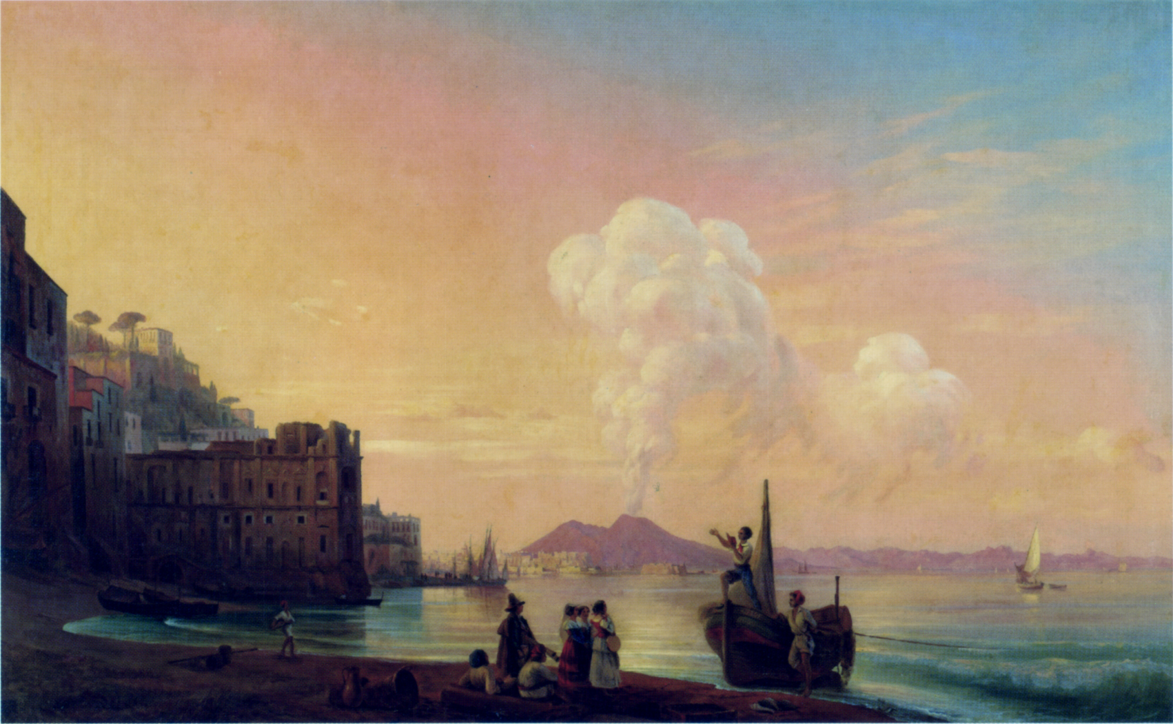 Bay of Naples, 1845