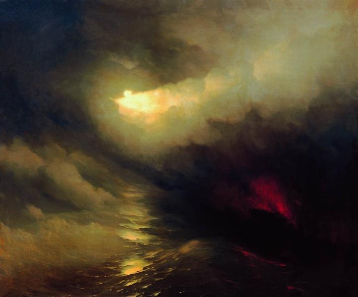 Creation of the World, 1864 - Ivan Aivazovsky