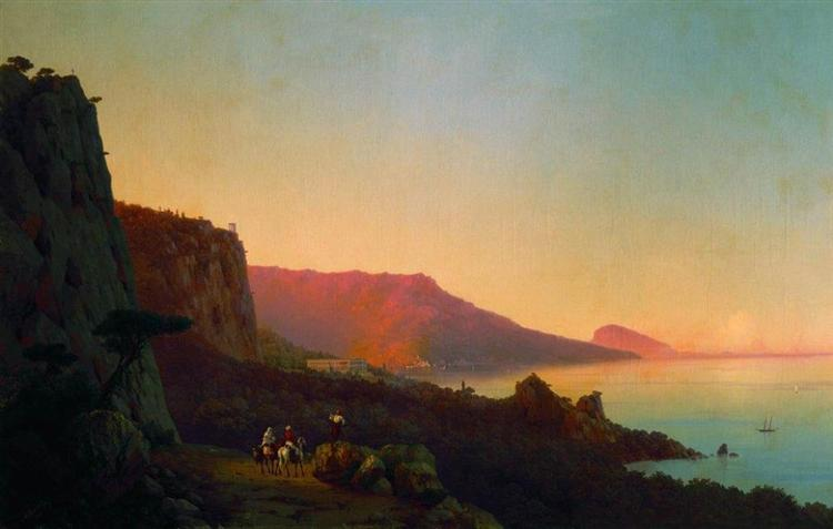 Evening in the Crimea, 1848 - Ivan Aivazovsky