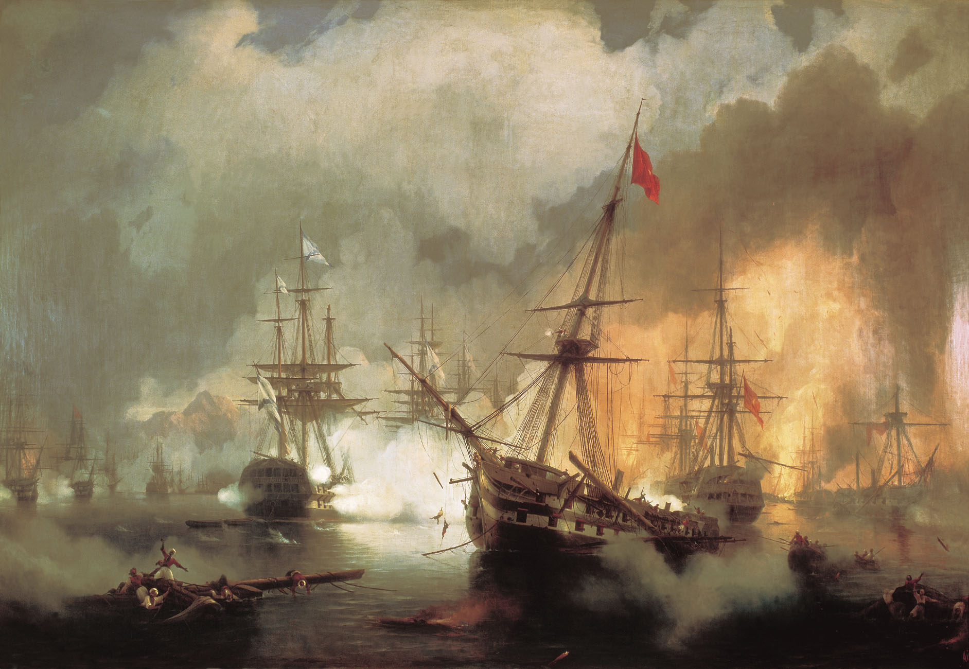 The Battle of Navarino, 1846