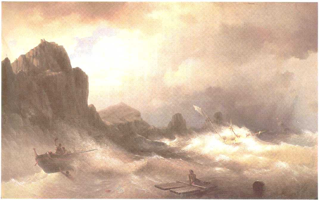 The Shipwreck, 1843