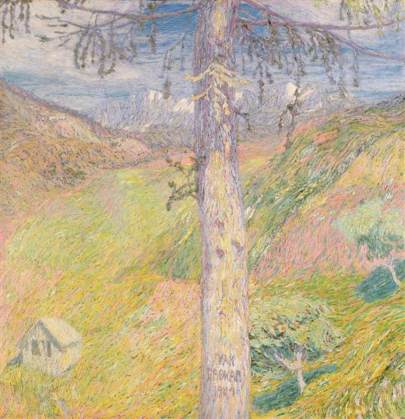 Larch, 1904 - Ivan Grohar