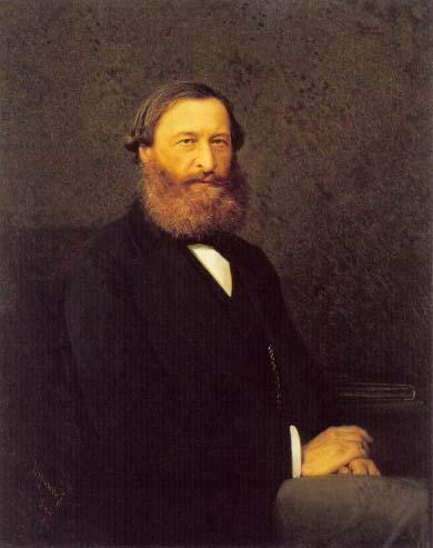 Samarin,YuryFyodorovich, 1878 - Ivan Kramskoy