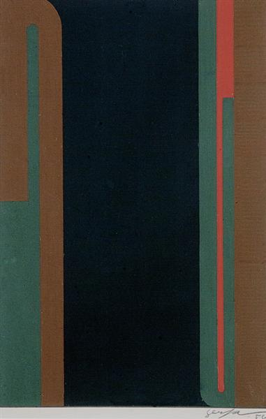 Untitled, 1956 - Ivan Serpa