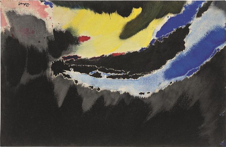 Untitled, 1961 - Ivan Serpa