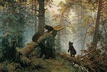 Утро в сосновом лесу - Иван Шишкин