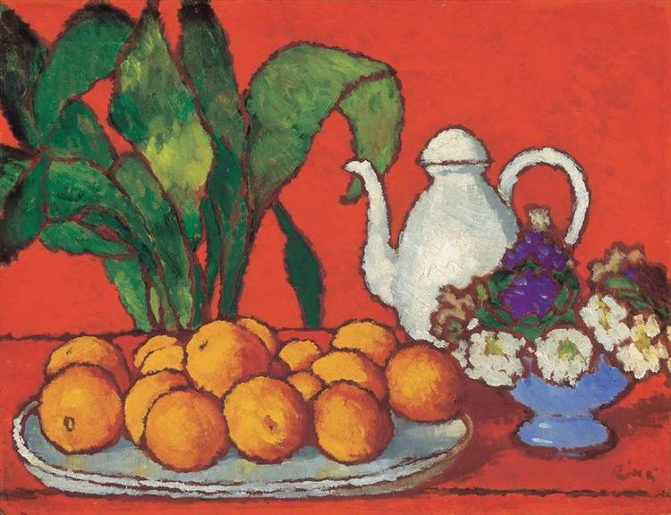 Still Life with Oranges - Jozsef Rippl-Ronai