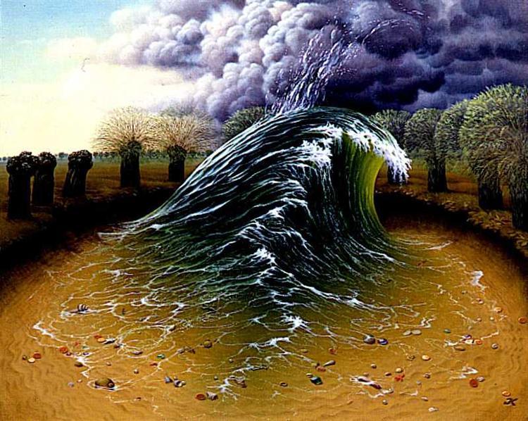 Private Wave - Jacek Yerka