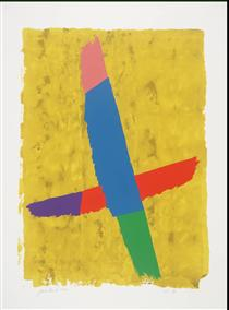 Cross Over - Jack Bush