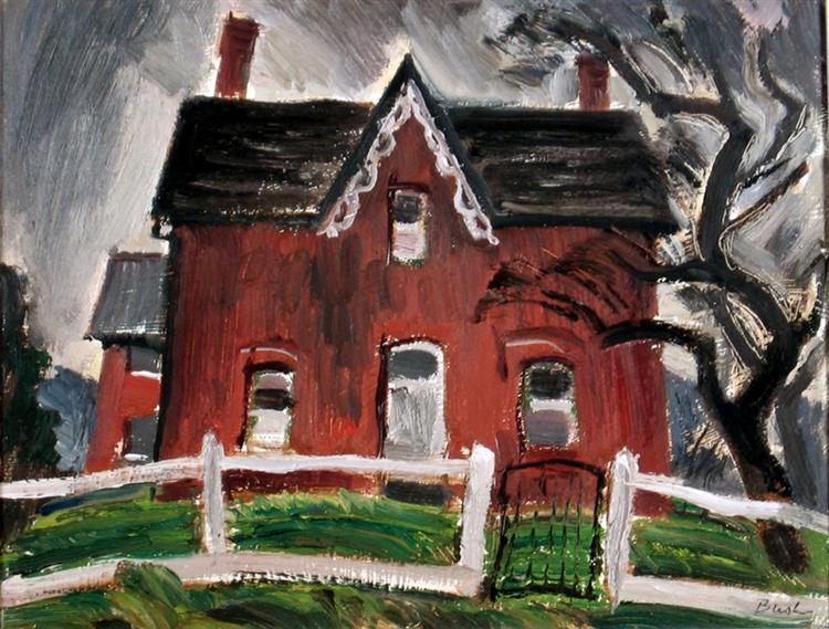 Farm House, Caledon, 1944 - Jack Bush