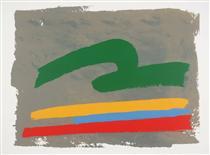 Green Loop - Jack Bush