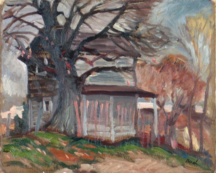 Windy Day, 1936 - Jack Bush