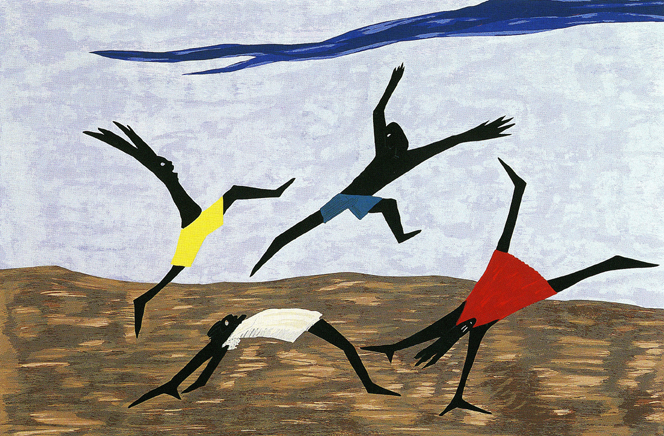 Harriet Tubman Series (Panel #4), 1940 - Jacob Lawrence