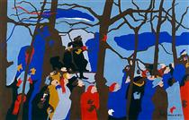 The Swearing In No. 1 - Jacob Lawrence