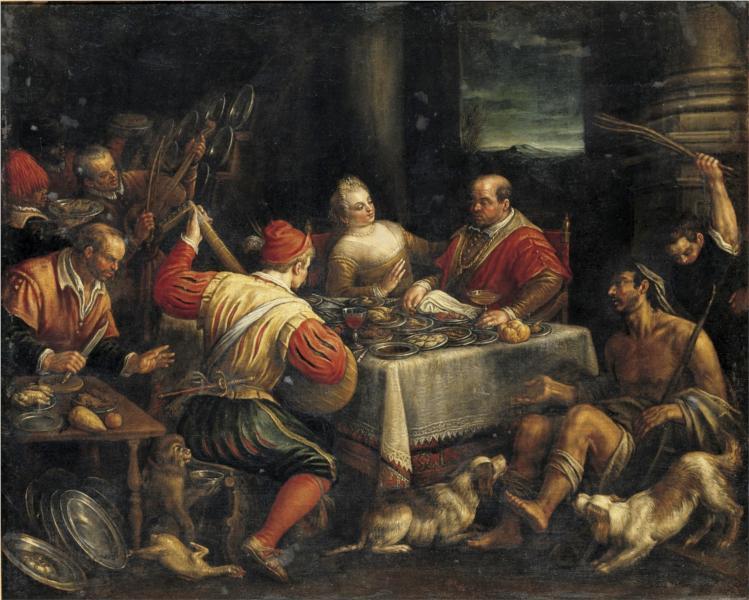 Banquet Scene - Jacopo Bassano