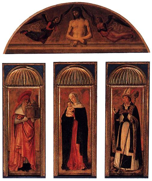 Triptych of the Virgin, 1464 - 1470 - Jacopo Bellini