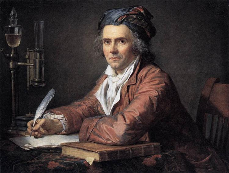 Portrait of Alphonse Leroy, 1783 - Jacques-Louis David