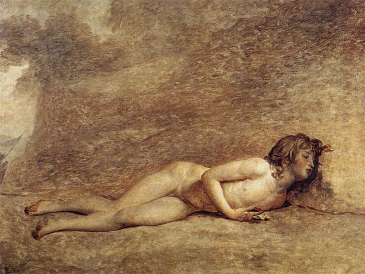 The Death of Bara - Jacques-Louis David
