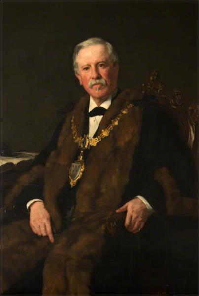 John Richard Pickmere, Mayor of Warrington, 1883 - James Charles