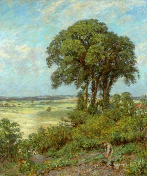 Landscape in Sussex - James Charles