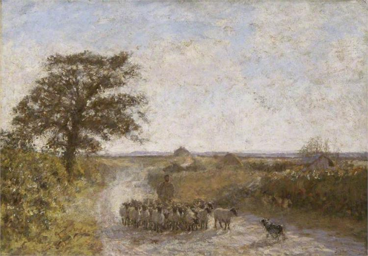 The Dusty Road, 1902 - James Charles