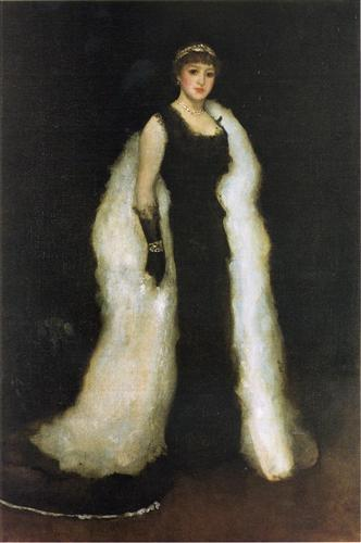 Arrangement in Black - James McNeill Whistler