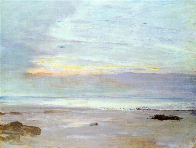 Crepuscule in Opal Trouville, 1865 - James McNeill Whistler